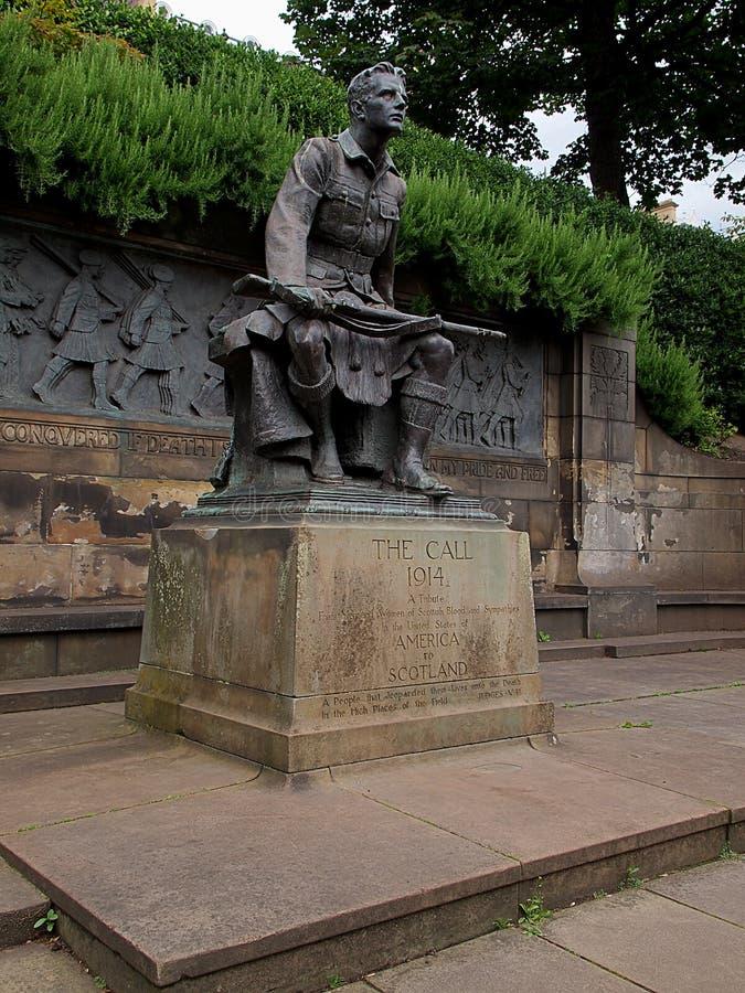 Un monument de gratitude image stock