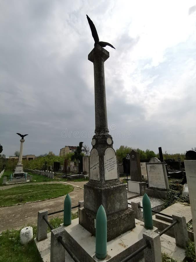 Un monument des soldats roumains juifs tomb?s dans la premi?re guerre mondiale photographie stock