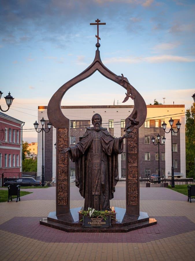Un monumento al santo foto de archivo libre de regalías
