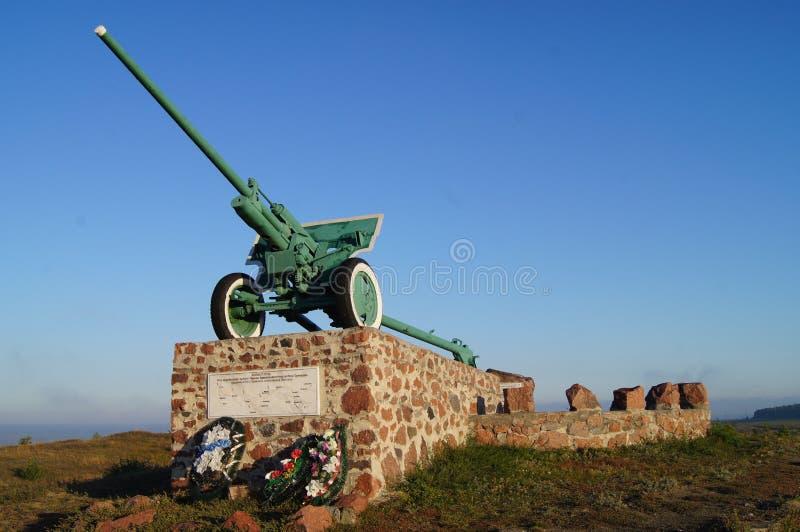 Un monumento a los soldados soviéticos fotos de archivo