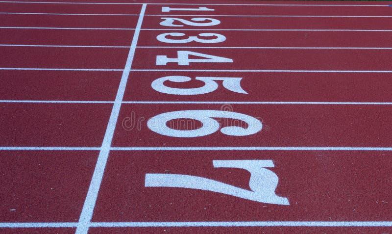 Un morceau d'athlétisme photographie stock libre de droits