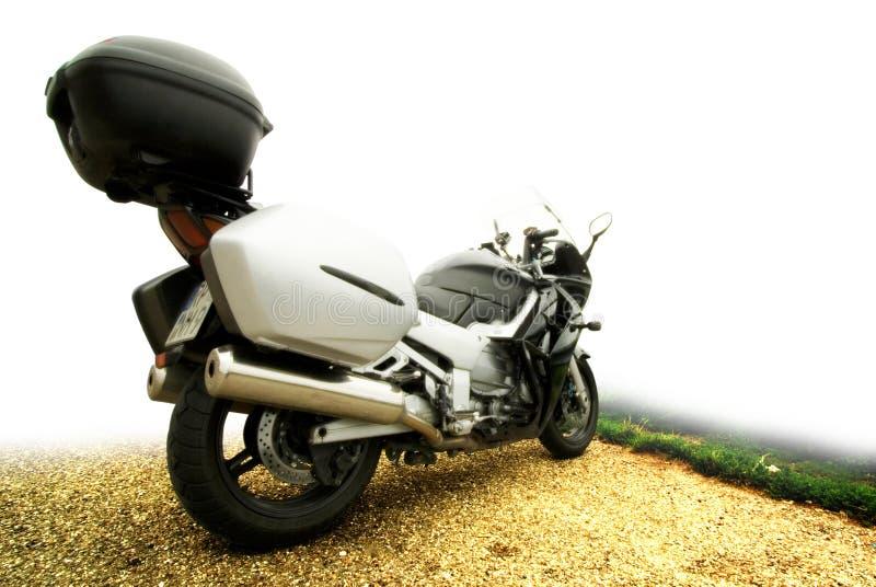 Un moto grand-angulaire photo libre de droits