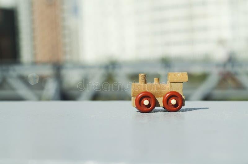 Un motore del giocattolo immagini stock
