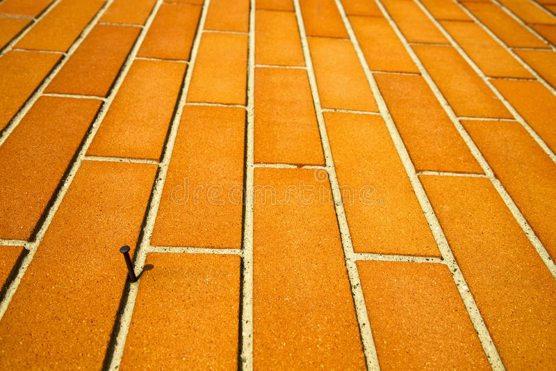 in un mozzate Italia marrone d'ottone arrugginita Lombardia fotografia stock