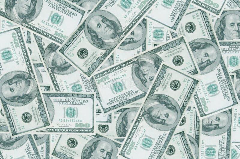 Un mucchio dei dollari. immagine stock