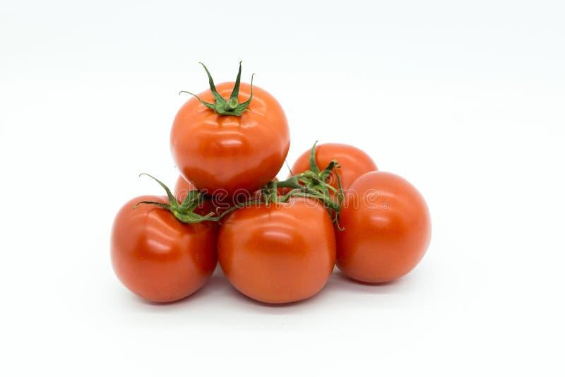 Un mucchio dei pomodori immagini stock libere da diritti