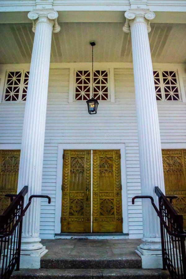 Un musée public énorme en code de cap, le Massachusetts images stock