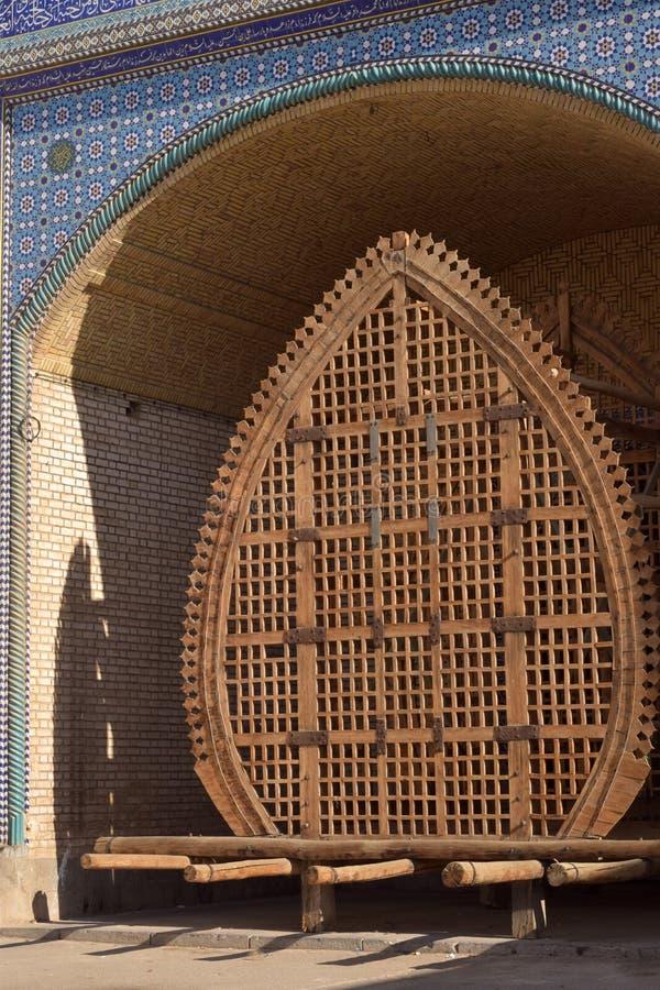 Un Nakhl in Yazd fotografia stock libera da diritti