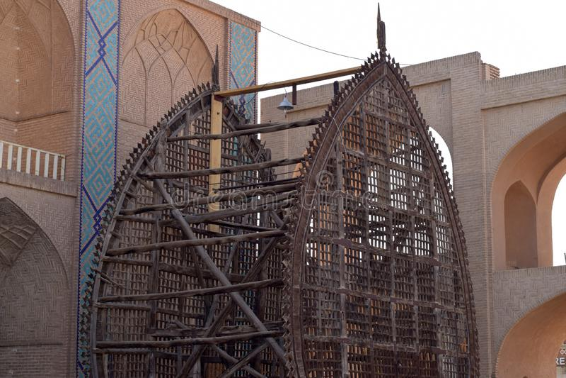 Un Nakhl in Yazd immagine stock