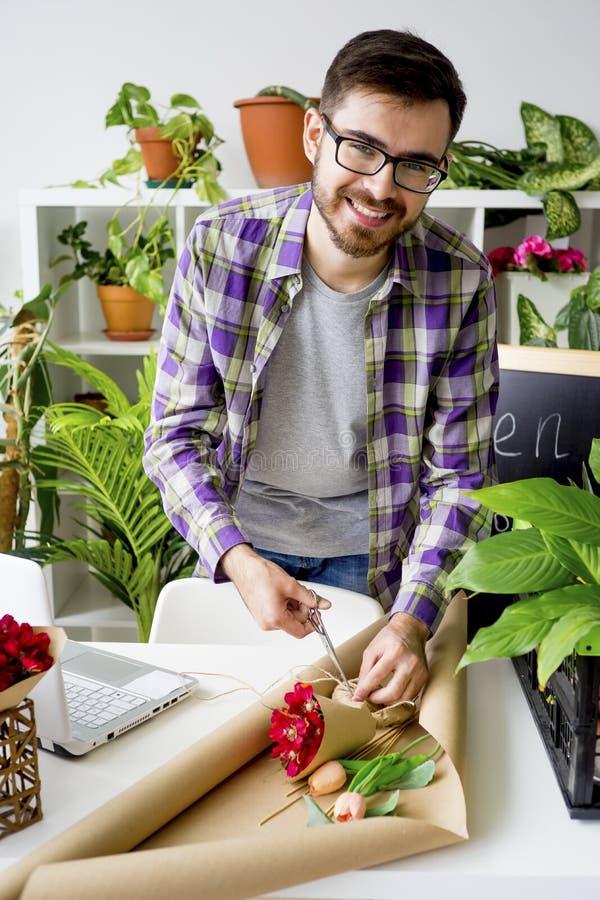 Un negozio di fiore fotografie stock libere da diritti