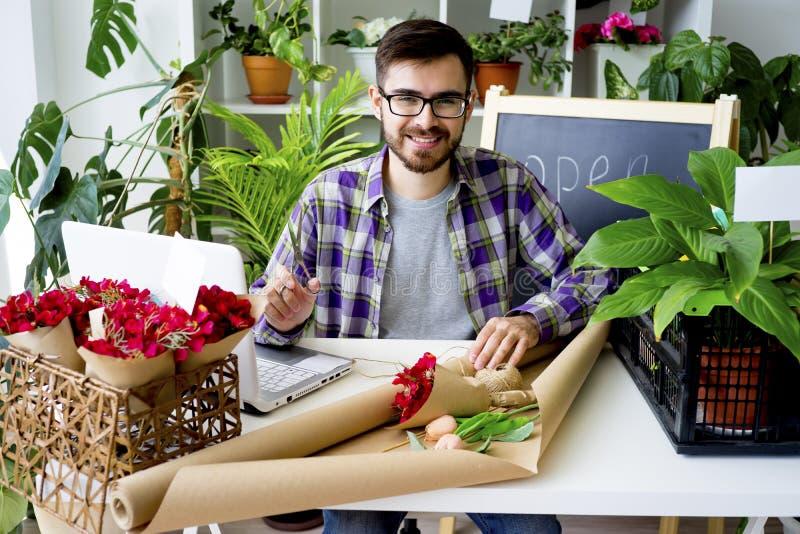 Un negozio di fiore fotografie stock
