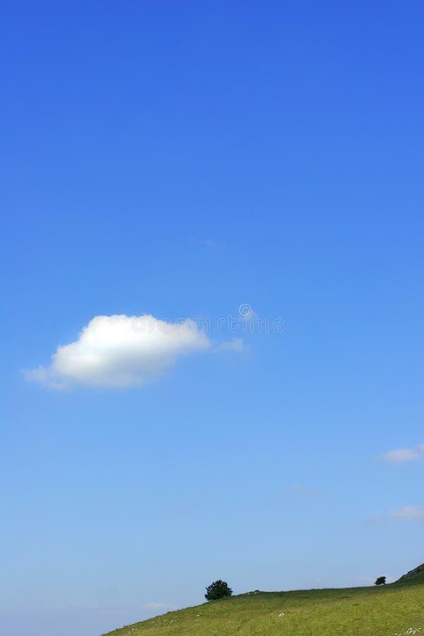 Un nuage image stock