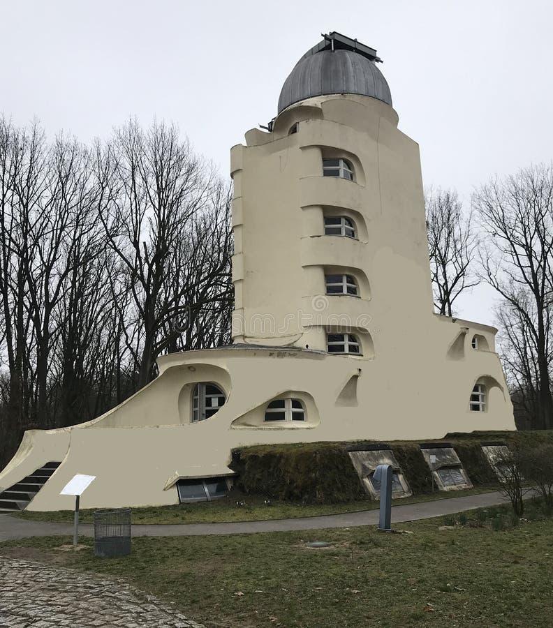 Un observatorio viejo de la astrofísica en Alemania imagen de archivo libre de regalías