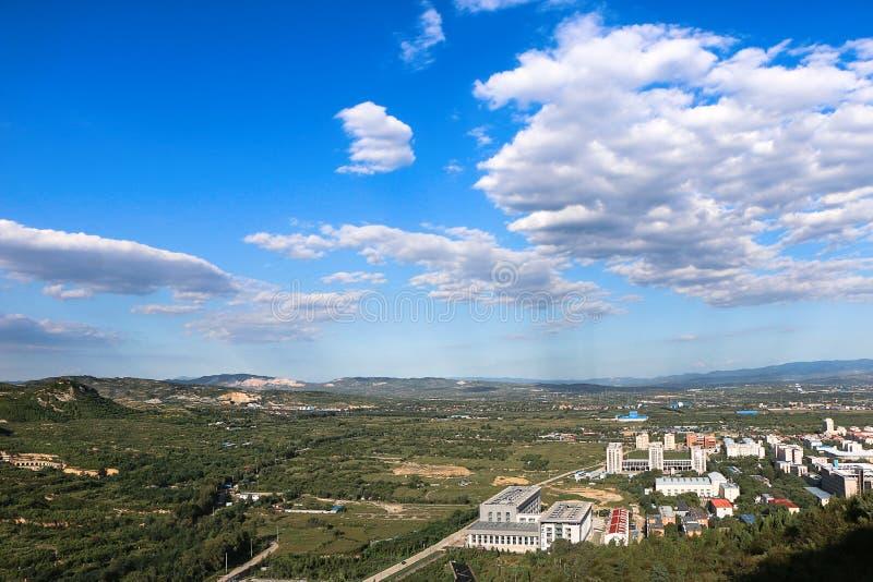 Un'occhiata dell'università del nord di Cina fotografia stock