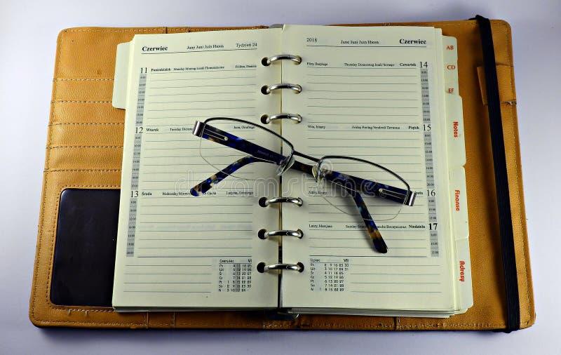 Un organizador de papel tradicional fotos de archivo libres de regalías