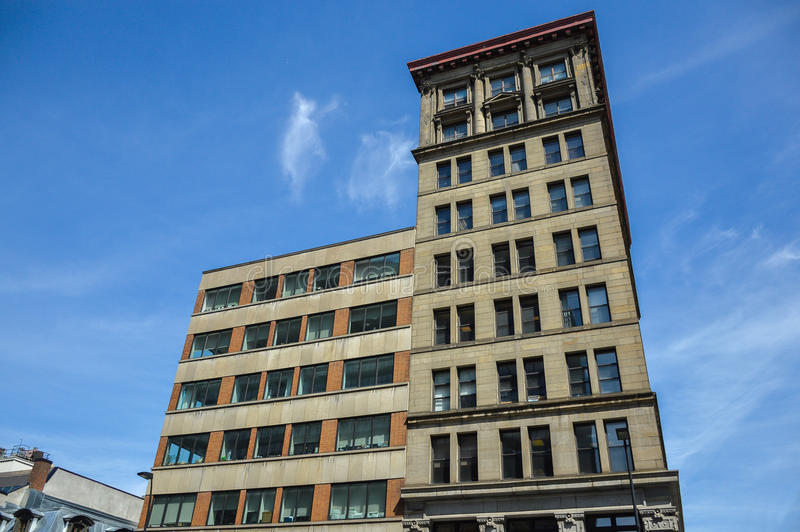 Un ornement du vieux bâtiment historique photos stock