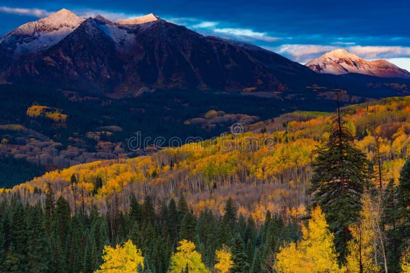 Un otoño de Colorado fotos de archivo