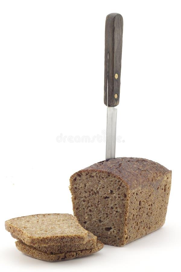 Un pain de pain brun images stock