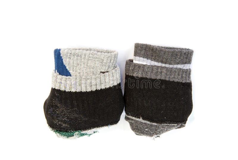 Un paio dei calzini pieganti fotografia stock libera da diritti