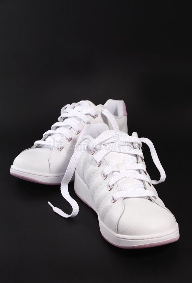 Un paio di scarpe fotografia stock libera da diritti