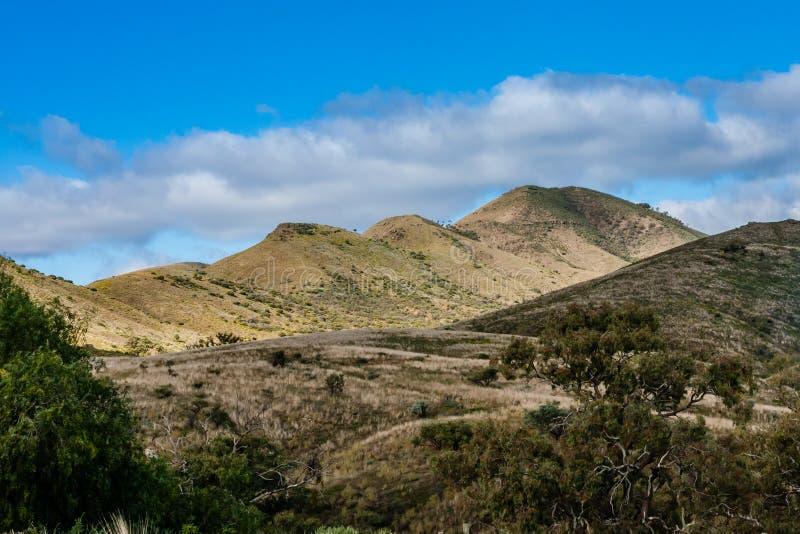 Un paisaje de la montaña en sur de Australia fotos de archivo