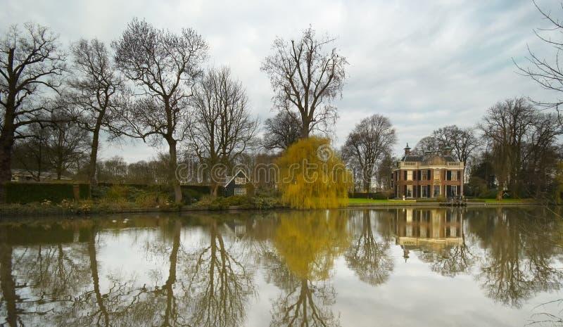 Un paisaje holandés fotos de archivo libres de regalías