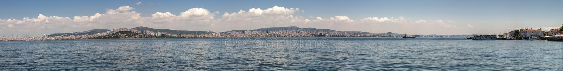 Un panorama grande del terraplén de Estambul Estambul, Turquía imágenes de archivo libres de regalías