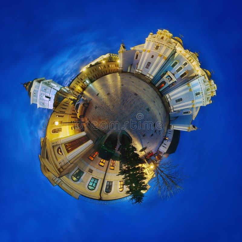 Un panorama sferico di 360 gradi immagine stock libera da diritti