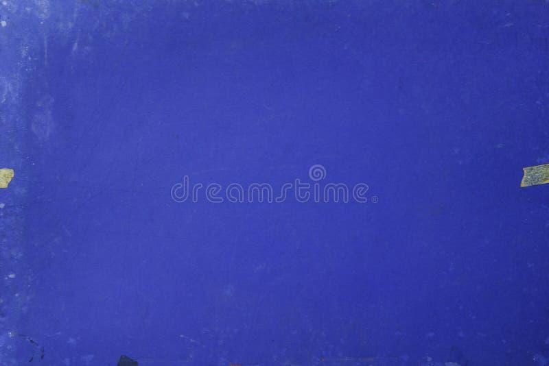 Un papier bleu modifié photo stock