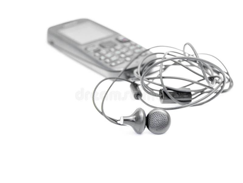 Un par de auricular imagen de archivo libre de regalías