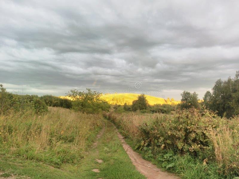 Un par de minutos antes de la tormenta imagen de archivo