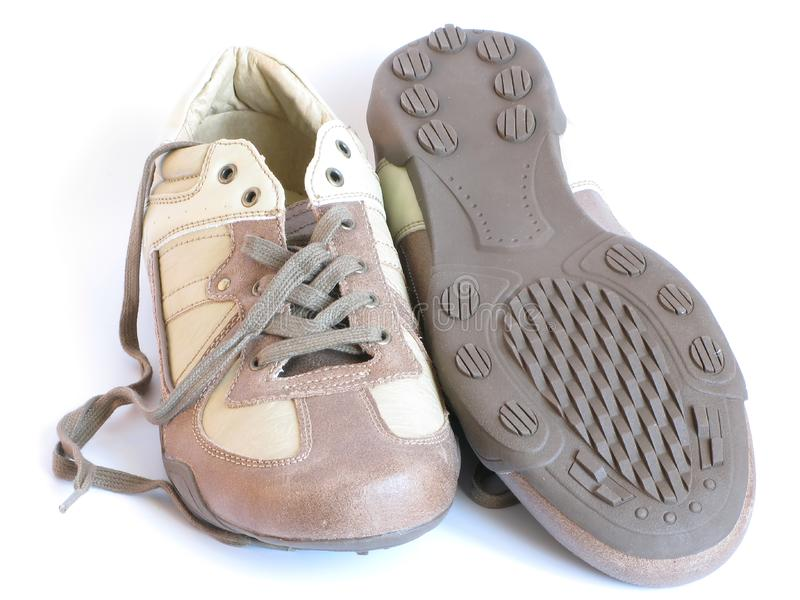 Un par de zapatos foto de archivo