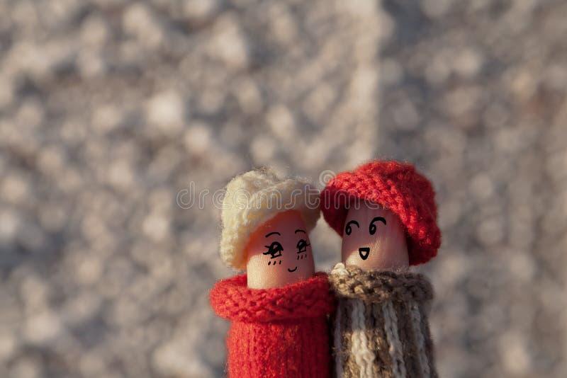 Un par feliz en amor imágenes de archivo libres de regalías