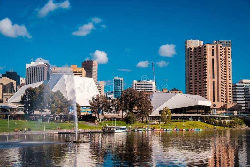 Un parque más viejo, Adelaide City imagen de archivo libre de regalías