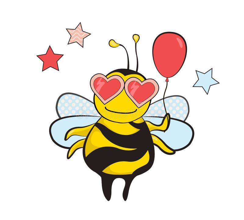 Un partito dell'ape illustrazione di stock