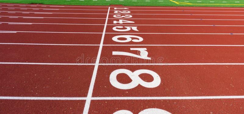 Un pedazo de atletismo foto de archivo