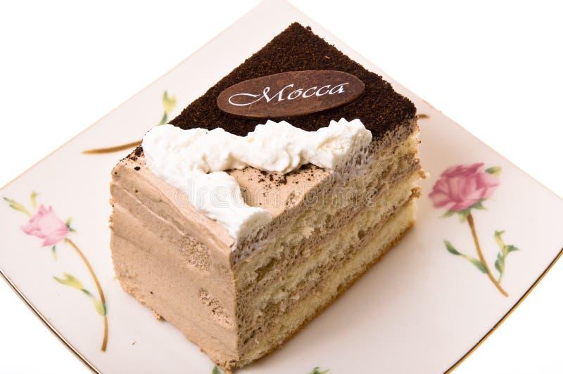 Un pedazo de torta. fotos de archivo libres de regalías