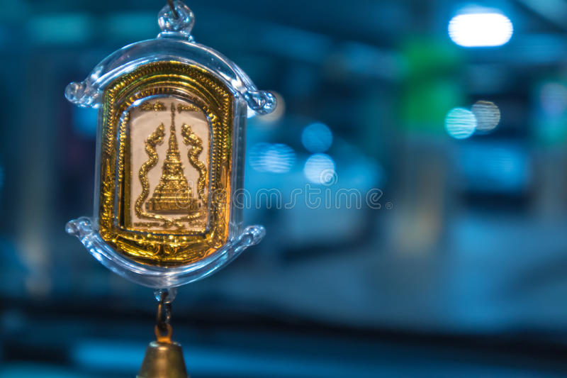 Un pendentif de Bouddha image libre de droits
