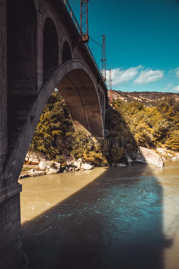 Un pequeño puente foto de archivo libre de regalías