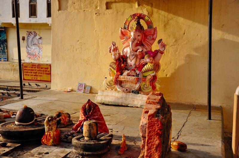 Un pequeño templo cerca de Pushkar, la India fotos de archivo libres de regalías