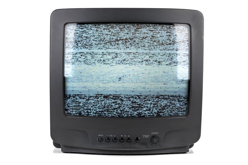 Un pequeño tubo vintage TV imágenes de archivo libres de regalías