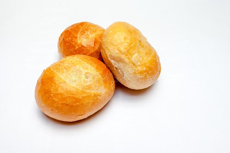 Un petit pain dur image libre de droits