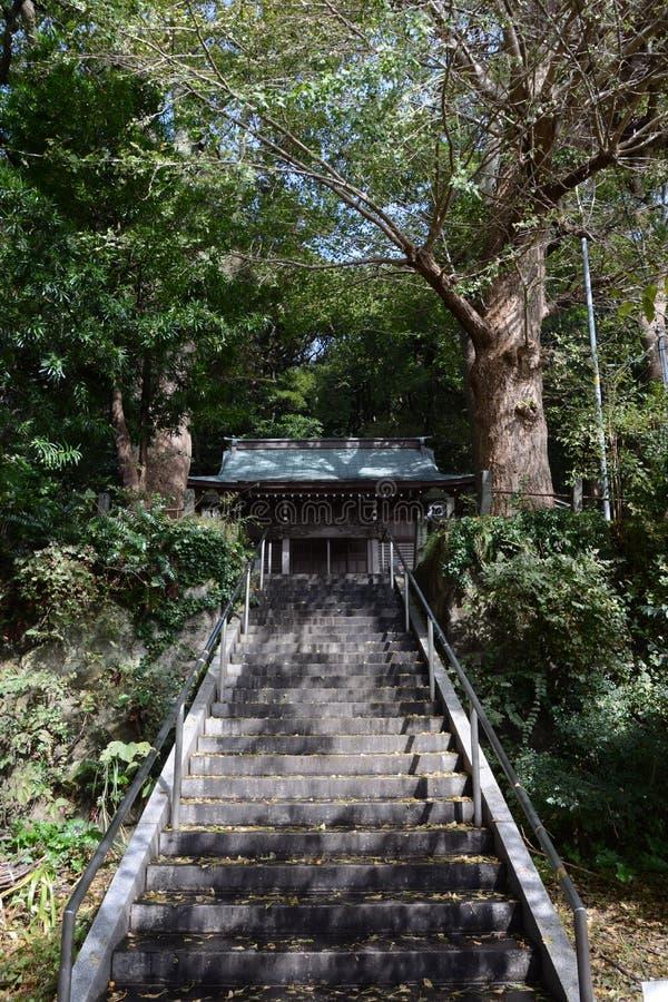 Un petit tombeau de Shinto photo libre de droits