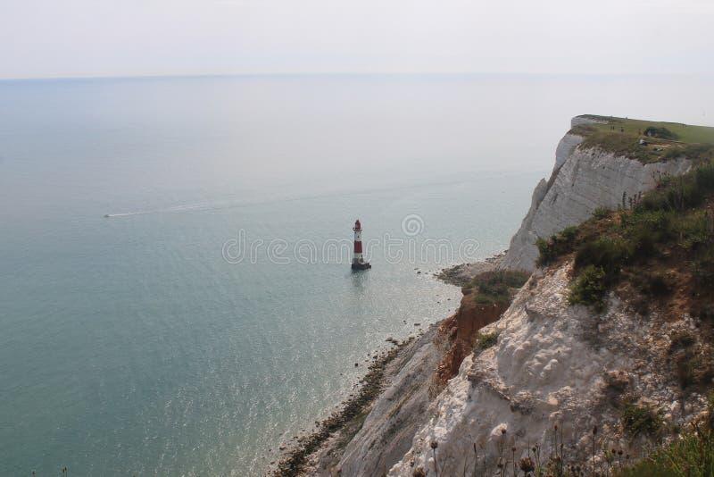 Un phare près de cap de sept soeurs image stock