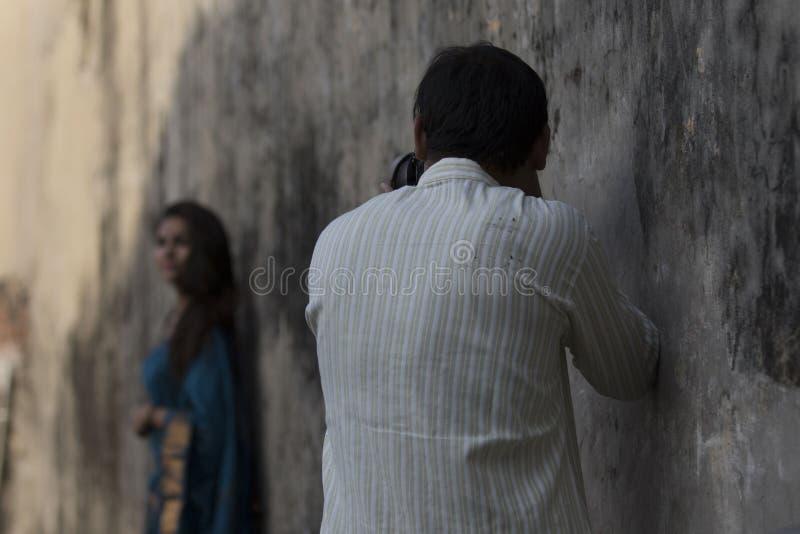 Un photographe passionn? photographie stock