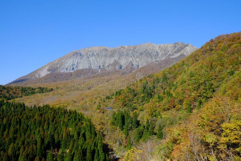 Un pico famoso en la prefectura de Tottori imagen de archivo
