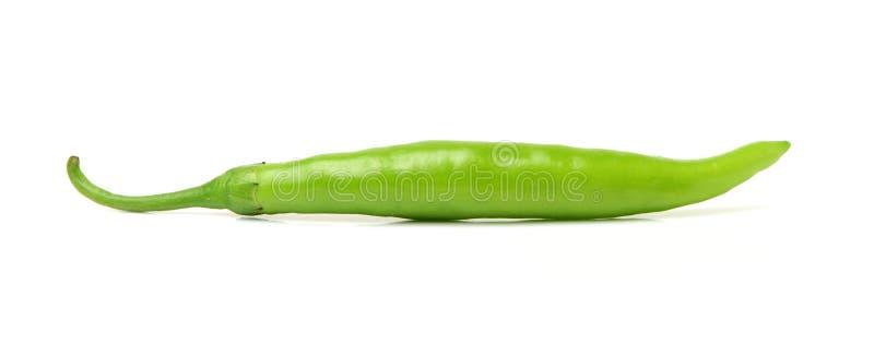 Un piment vert image libre de droits