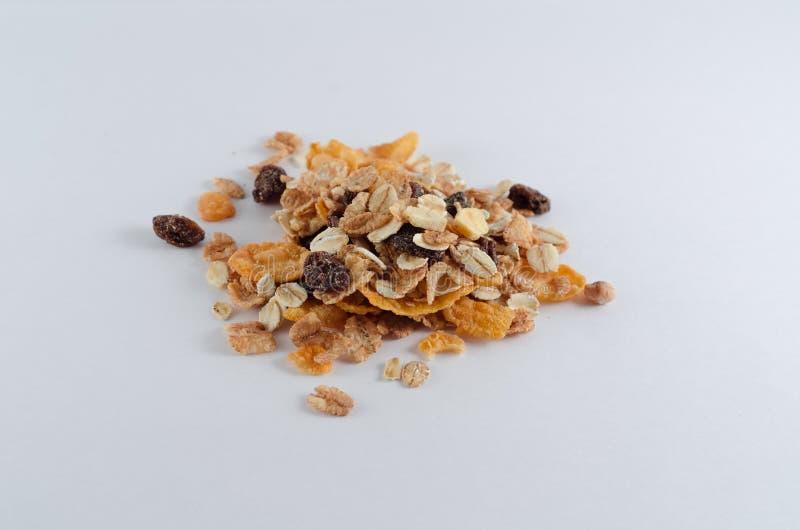 Un pizzico di cereale fotografie stock