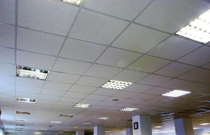 Un plafond de bureau photographie stock