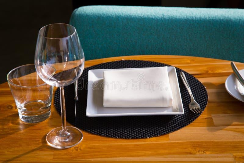 Un plat de dîner, photographie stock libre de droits